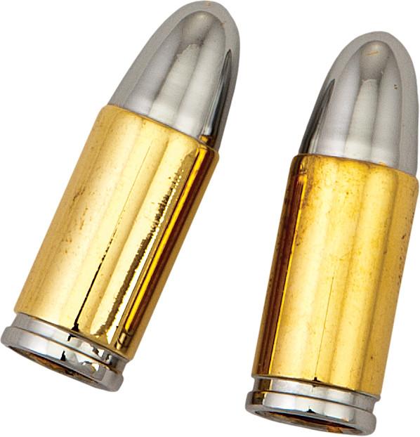gold bullet valve caps