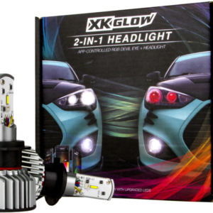XK Glow Demon Eye Headlights