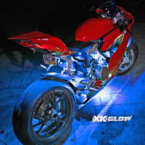 XK Glow Motorcycle Light Kits Remote