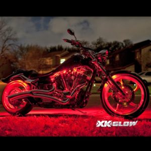 XK Glow Motorcycle Light App Kits