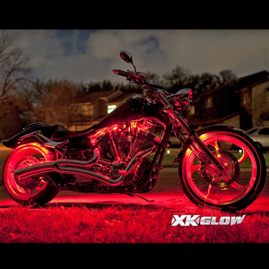 XK Glow Motorcycle Light Kits